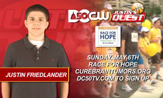 Justin asks you to join Race For Hope 2012